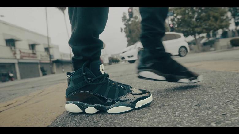 Air Jordan 6 Rings Black Basketball Trainers by Nike in Sneakerheads S01E01 101 (2020)