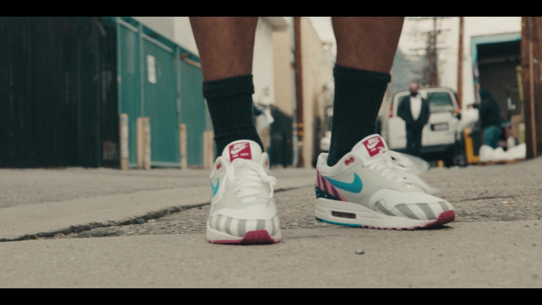 Air Max 1 by Nike x Parra Sneakers of Andrew Bachelor as Bobby in Sneakerheads S01E01 TV Show (1)