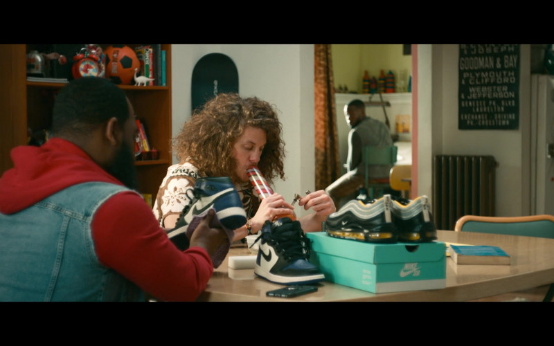 Air Max 97 and Nike Jordan 1 Sneakers in Woke S01E08 (2)