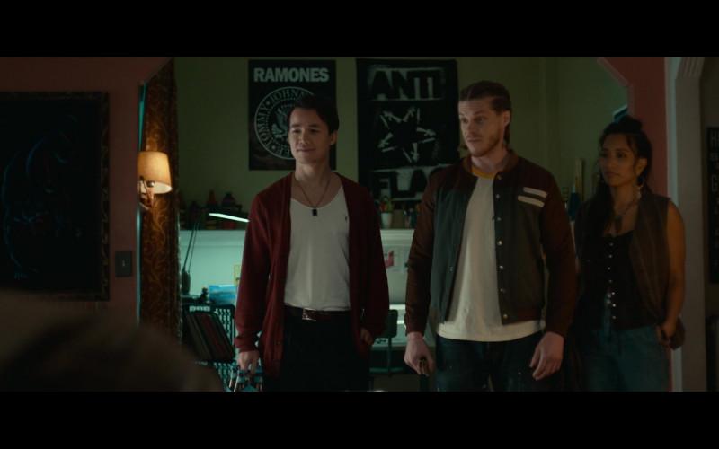 AllSaints T-Shirt Outfit of Shannon Kook as Ziggy in Woke S01E06