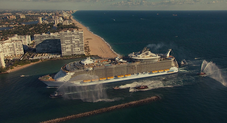Allure of the Seas Oasis-class cruise ship by Royal Caribbean International in Jack and Jill Movie (1)