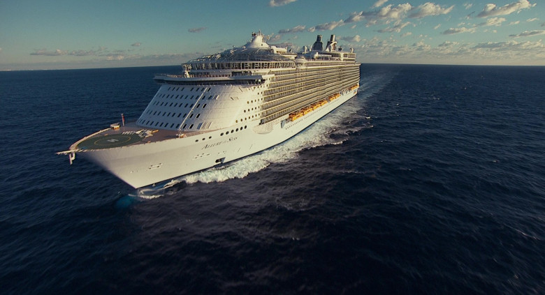 Allure of the Seas Oasis-class cruise ship by Royal Caribbean International in Jack and Jill Movie (4)