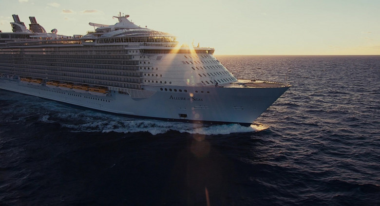 Allure of the Seas Oasis-class cruise ship by Royal Caribbean International in Jack and Jill Movie (5)
