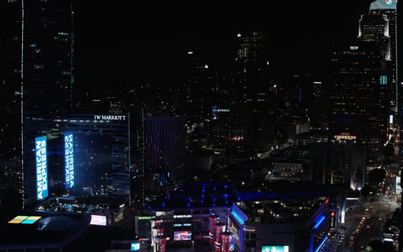 American Express and JW Marriott Hotel in L.A.'s Finest S02E01