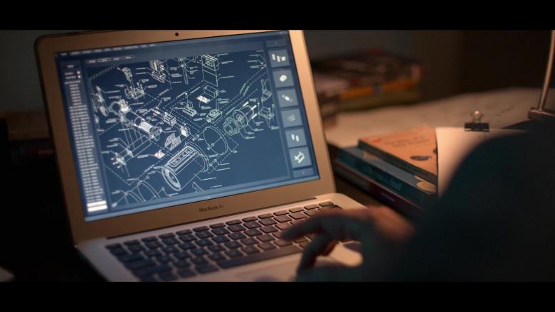 Apple MacBook Air Laptop Used by Josh Charles as Matt Logan in Away S01E06 (1)