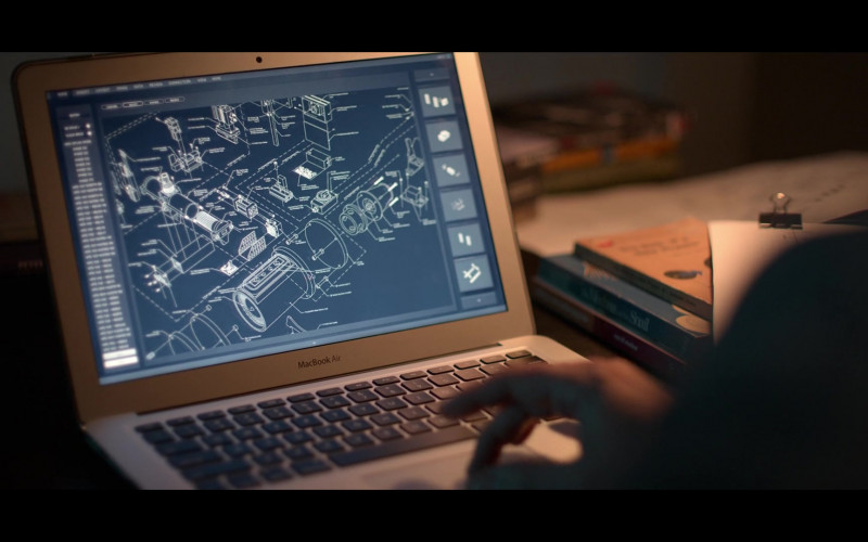 Apple MacBook Air Laptop Used by Josh Charles as Matt Logan in Away S01E06 (1)