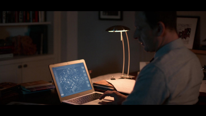 Apple MacBook Air Laptop Used by Josh Charles as Matt Logan in Away S01E06 (2)
