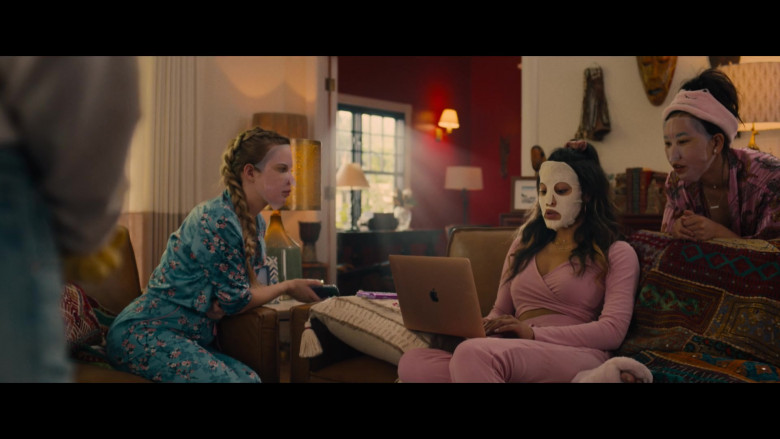 Apple MacBook Laptop of Kara Royster as Kaylee in Unpregnant Movie (1)