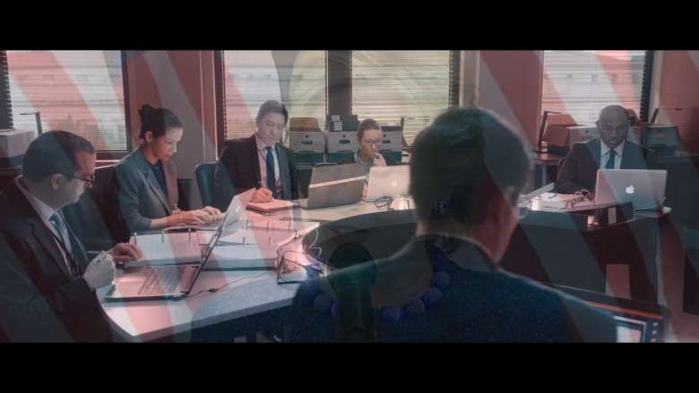 Apple MacBook Laptops Used by Actors in The Comey Rule Night One TV Show (2)