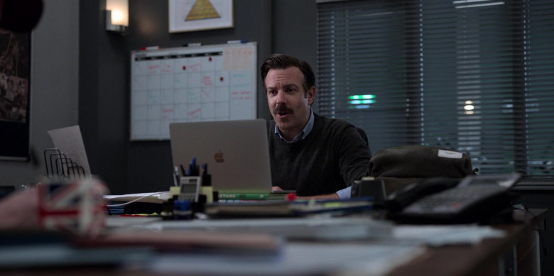 Apple MacBook Pro Laptop Used by Jason Sudeikis in Ted Lasso S01E07