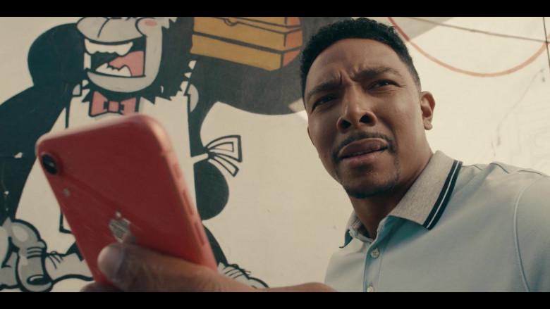 Apple iPhone Smartphone Held by Allen Maldonado as Devin in Sneakerheads S01E04 (2)
