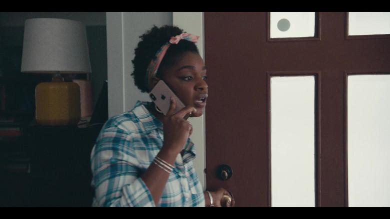 Apple iPhone Smartphone of Yaani King as Christine in Sneakerheads S01E04