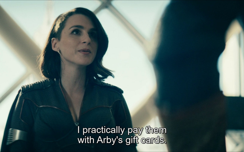 Arby's Gift Cards in The Boys S02E04