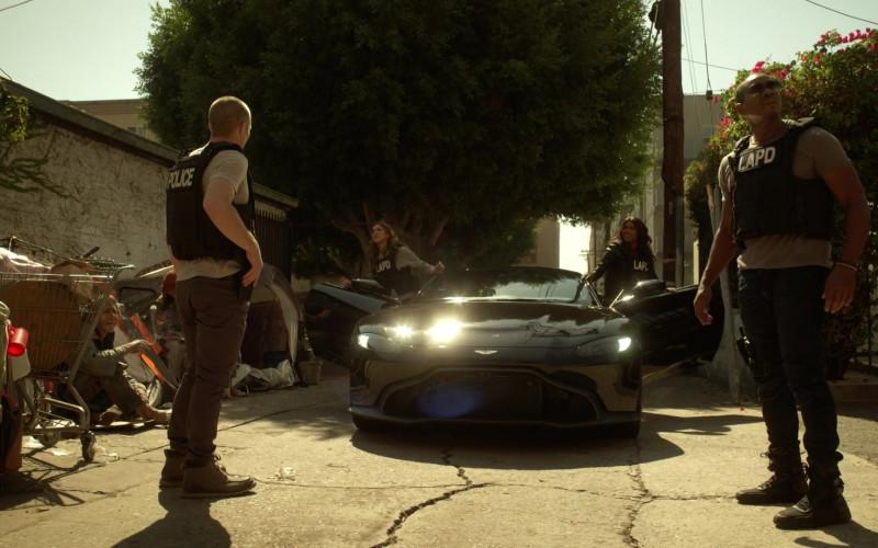 Aston Martin Vantage Black Car of Gabrielle Union as Syd in L.A.'s Finest S02E02