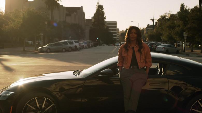 Aston Martin Vantage Car of Gabrielle Union as Syd in L.A.'s Finest S02E03 (1)