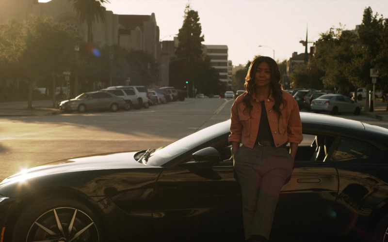 Aston Martin Vantage Car of Gabrielle Union as Syd in L.A.'s Finest S02E03 (1)