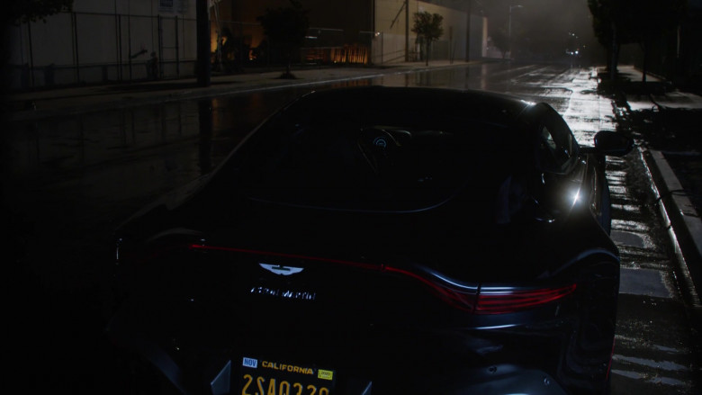 Aston Martin Vantage Sports Car in L.A.'s Finest S02E01 (1)