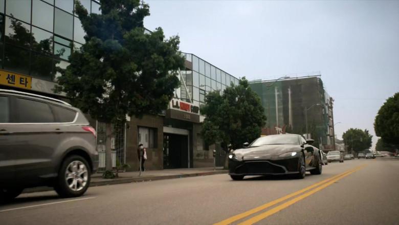 Aston Martin Vantage Sports Car in L.A.'s Finest Season 2 TV Show (1)