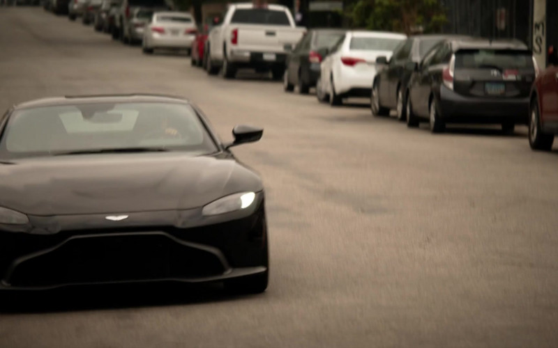 Aston Martin Vantage Sports Car in L.A.'s Finest Season 2 TV Show (2)