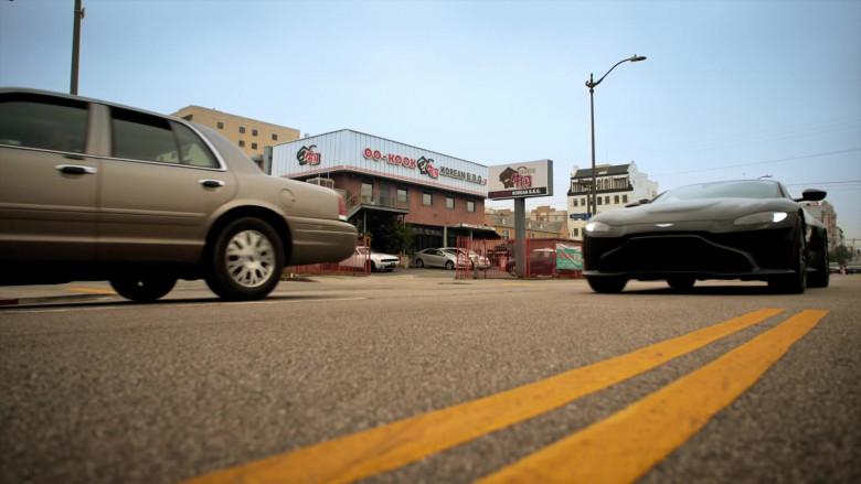 Aston Martin Vantage Sports Car in L.A.'s Finest Season 2 TV Show (3)