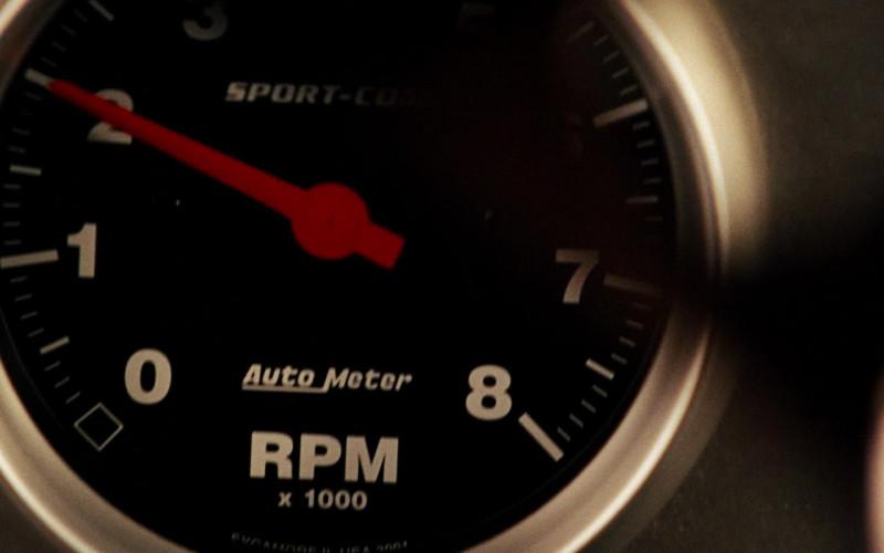 Auto Meter Tachometer in Fast & Furious