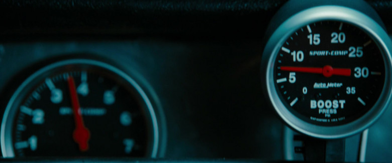 AutoMeter Sport Comp Gauges in Fast & Furious (1)