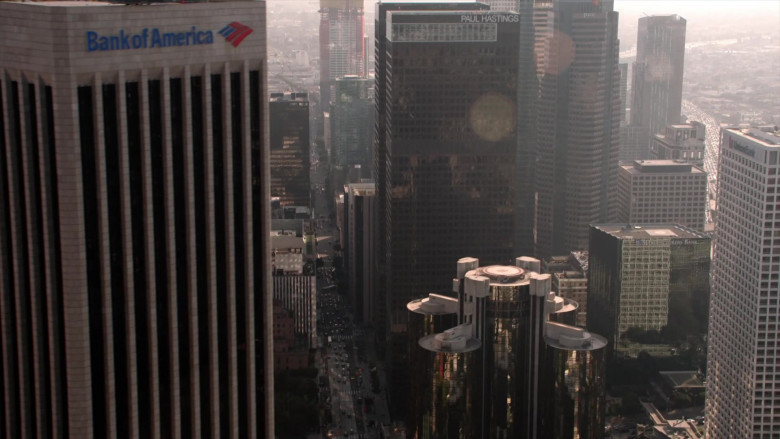 Bank of America and Paul Hastings Buildings in L.A.'s Finest S02E13