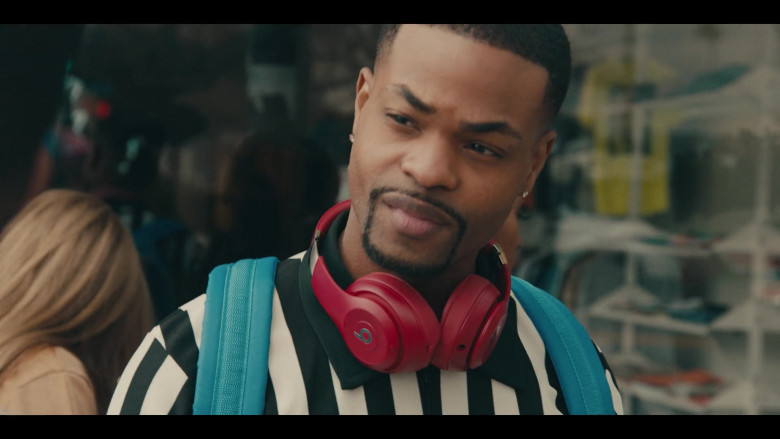 Beats Headphones (Red) Used by Andrew Bachelor as Bobby in Sneakerheads S01E01 101 TV Show (3)