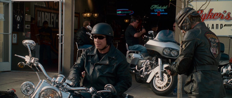 Bud Light and Michelob Ultra Beer Neon Signs in Wild Hogs