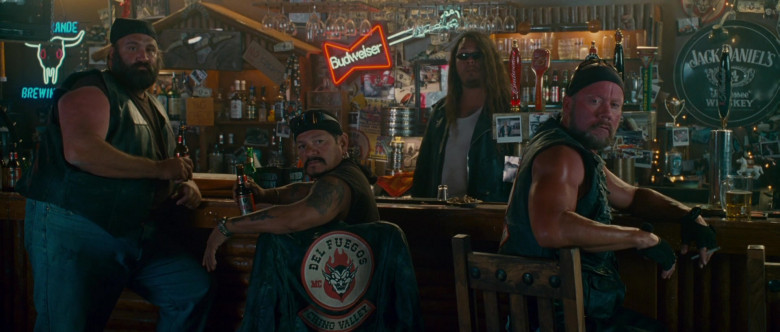 Budweiser and Jack Daniel's Signs in Wild Hogs (2007)