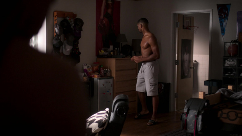 Burberry Shorts and UTZ Chips in Power Book II Ghost S01E01