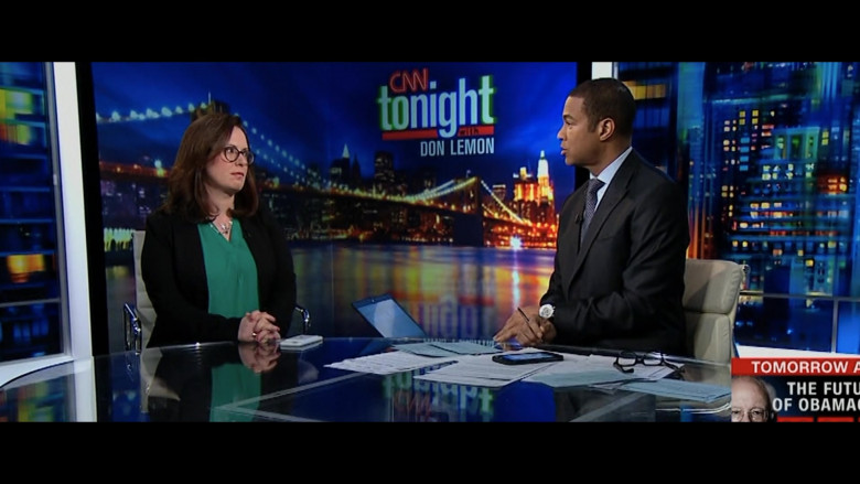 CNN Television Channel in The Comey Rule Night Two (5)
