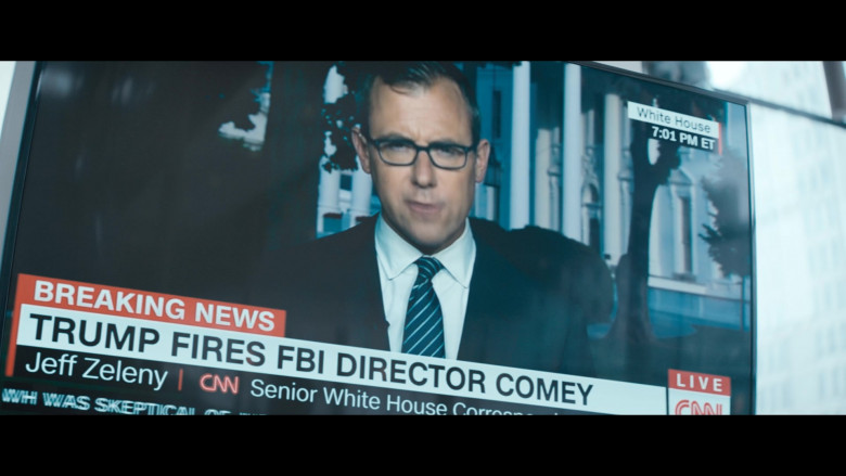 CNN Television Channel in The Comey Rule Night Two (6)