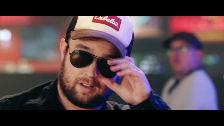 Cabela's Cap and Ray-Ban Sunglasses in Lovin' On You by Luke Combs