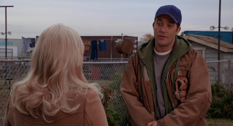 Carhartt Jacket Casual Outfit of Craig Bierko as Tom Ryan in Scary Movie 4 (2)