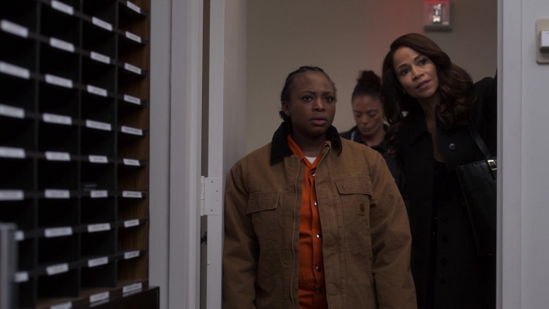 Carhartt Jacket of Naturi Naughton as Tasha St. Patrick in Power Book 2 Ghost S01E03