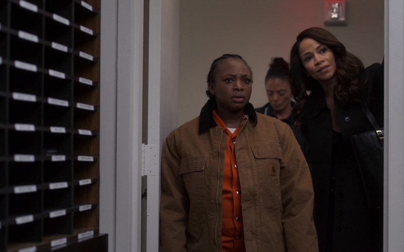 Carhartt Jacket of Naturi Naughton as Tasha St. Patrick in Power Book 2 Ghost S01E03
