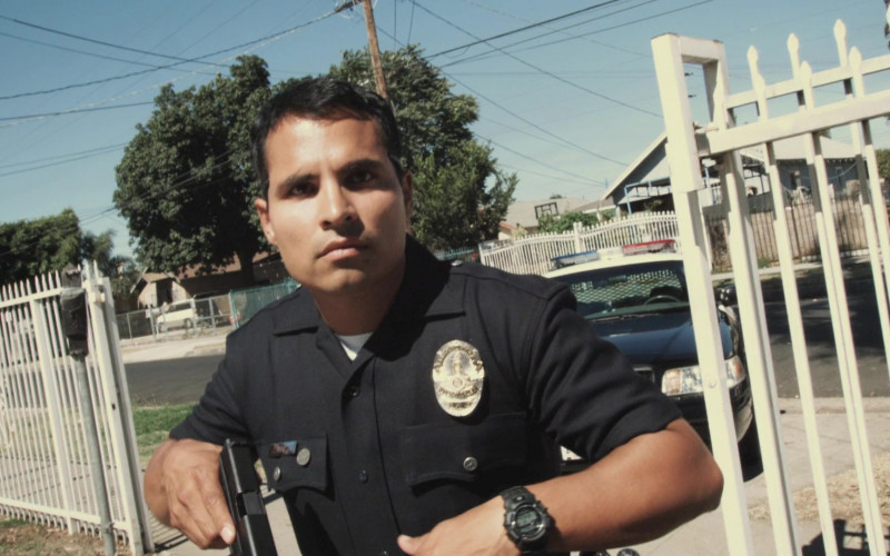 Casio G-Shock Wrist Watch of Michael Peña as Miguel 'Mike' Zavala in End of Watch