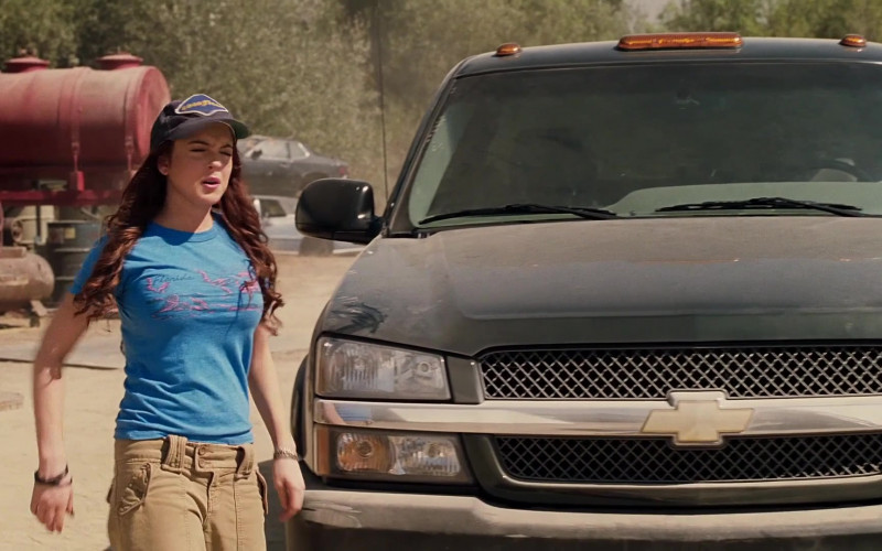 Chevrolet Silverado Pickup Truck in Herbie Fully Loaded (2)