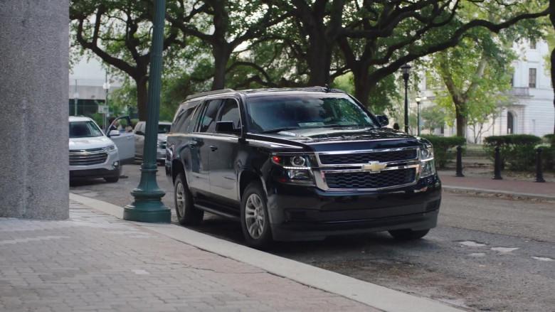 Chevrolet Suburban Black SUV in Filthy Rich S01E01 (1)