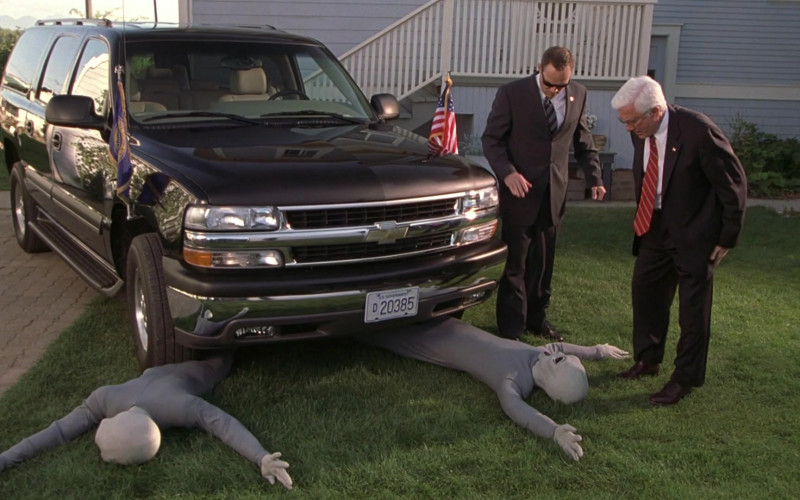 Chevrolet Suburban Car of Leslie Nielsen as President Harris in Scary Movie 3