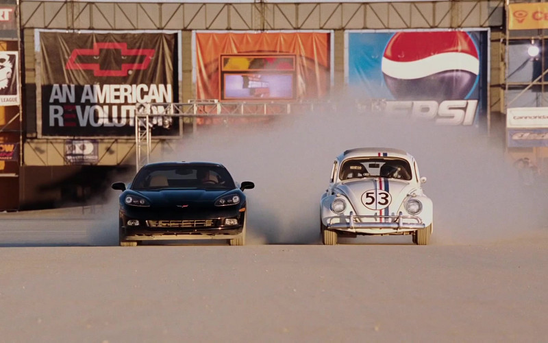 Chevrolet and Pepsi in Herbie Fully Loaded
