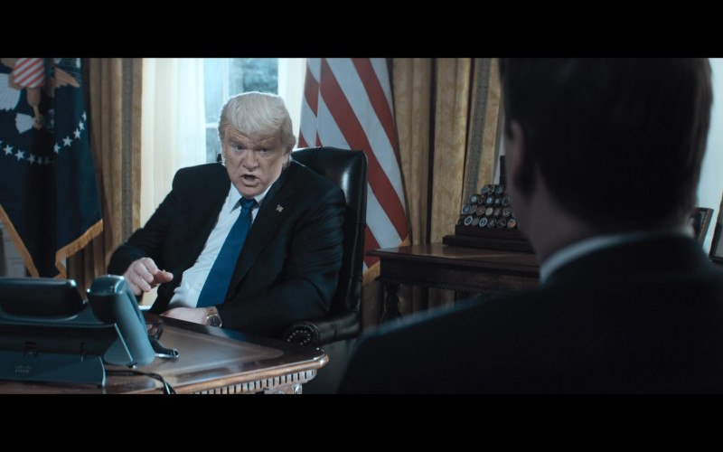 Cisco Phone of Brendan Gleeson as President Donald Trump in The Comey Rule Night Two (2020)
