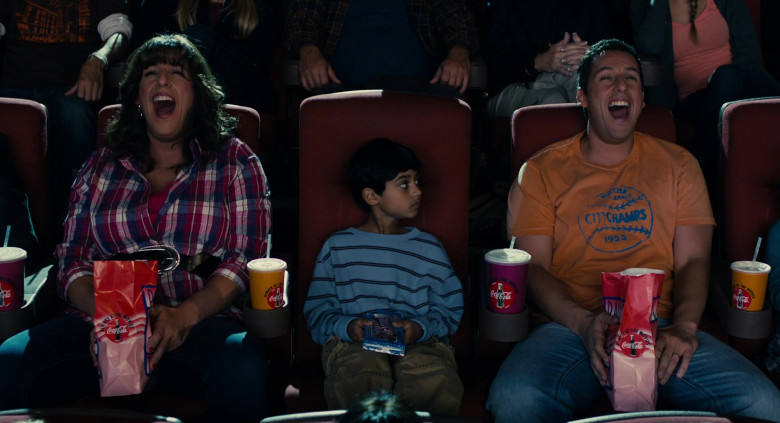 Coca-Cola Soda Enjoyed by Actors Adam Sandler & Rohan Chand in Jack and Jill Movie (1)