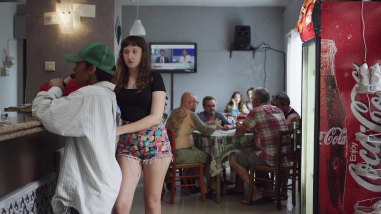 Coca-Cola Soda Refrigerator in We Are Who We Are S01E01 (2020)