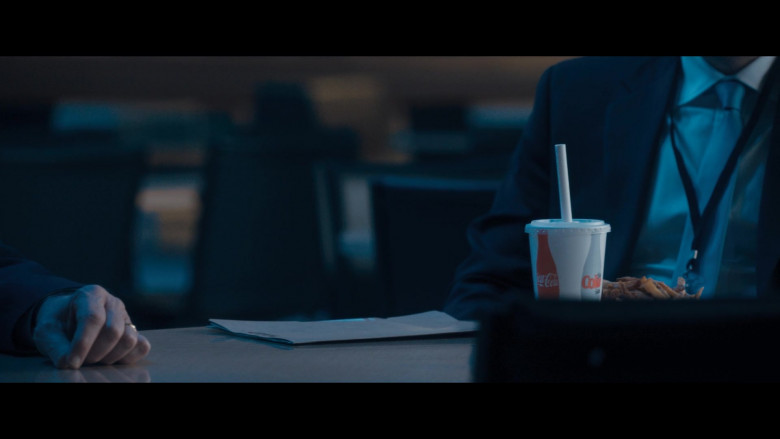 Coca-Cola Soda of Steve Zissis as Jim Baker in The Comey Rule Night One (2020)