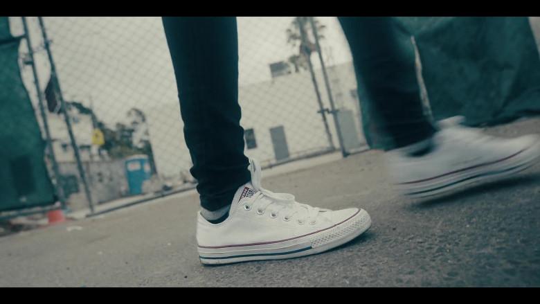 Converse AllStar White Shoes in Sneakerheads S01E01 101 (2020)