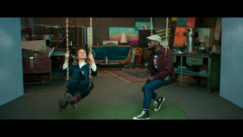 Converse High-Top Sneakers Worn by Lamorne Morris as Keef in Woke S01E05 (1)