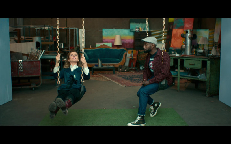 Converse High-Top Sneakers Worn by Lamorne Morris as Keef in Woke S01E05 (1)