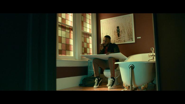 Converse High-Top Sneakers Worn by Lamorne Morris as Keef in Woke S01E05 (2)